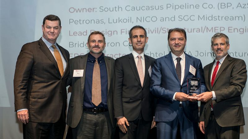 2018 ENR Global Best Project Award for SCPX Area 81