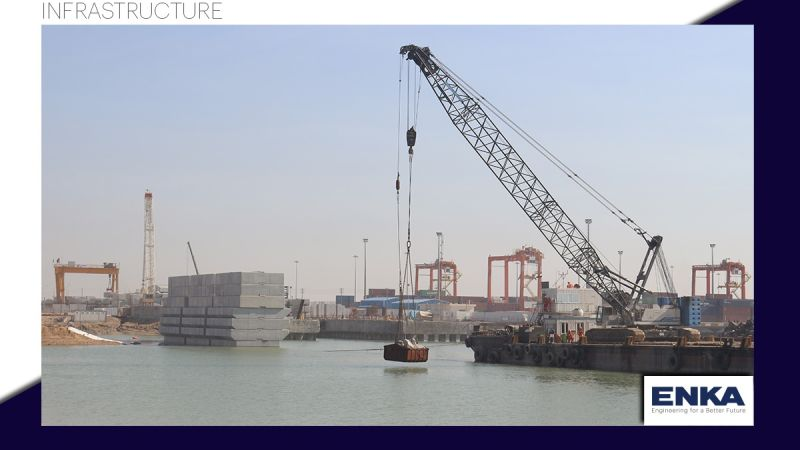 ENKA'nın Umm Qasr Basra Çok Amaçlı Terminal Projesinin İlerlemesi