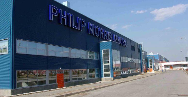Philip Morris Izhora Cigarette Factory