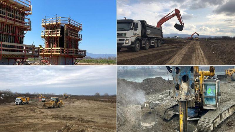 Morava Corridor Motorway Project Progress as of beginning of 2021