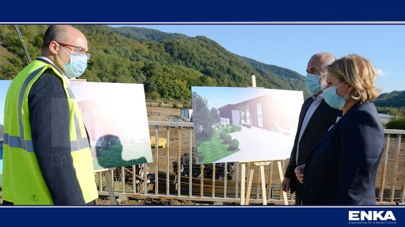 Namakhvani HPP Cascade Project hosted the Minister of Economy and Sustainable Development of Georgia