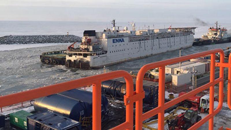 EPC-3 Adasında İnşaat, Mekanik, Elektrik & Devreye alma işleri