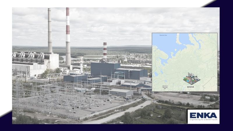 ENKA signed a contract for construction of Zainskaya 858 MW Combined Cycle Power Plant